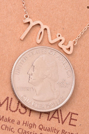 Mrs Necklace (Silver)