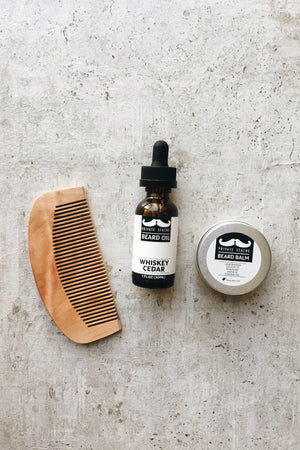 Beard Care Kit - Whiskey Cedar