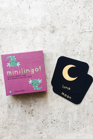 Minilingo Spanish/English Card Game