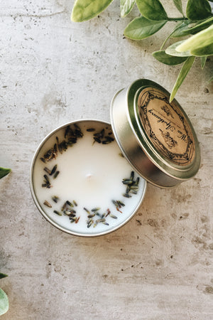 Cotton Wick Candle - French Lavender