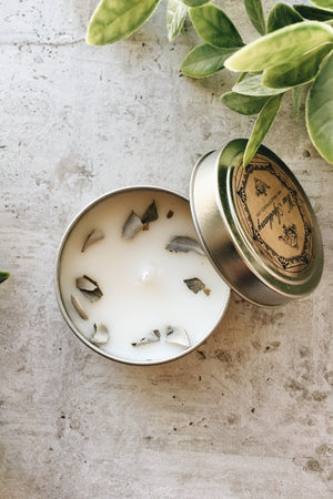 Cotton Wick Candle - White Sage