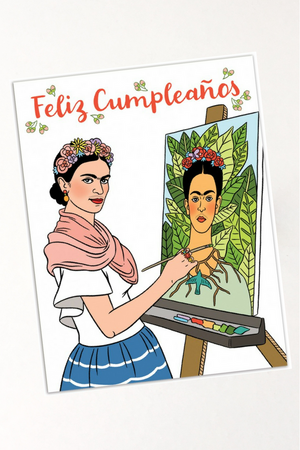 Frida Kahlo Birthday Card