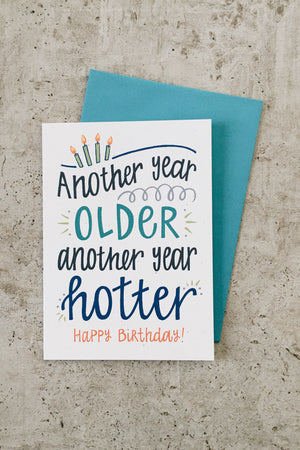 Another Year Hotter Card