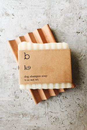 K9 Dog Shampoo Bar - Unscented