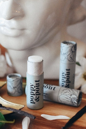 Poppy & Pout Lip Balm - Sweet Mint