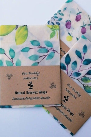 Beeswax Food Wrap - Leaves