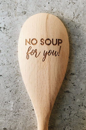Wooden Spoon - No Soup for You (Seinfeld)