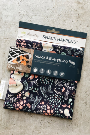 Reusable Snack Bag - Fox