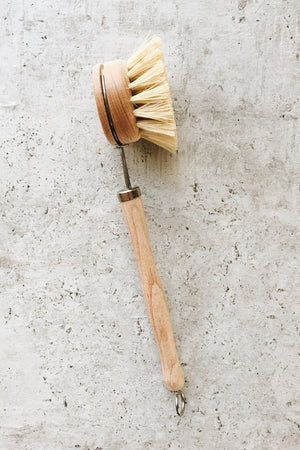 Beechwood Dish Brush (Refills Available)