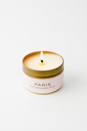 Flight to Paris Candle