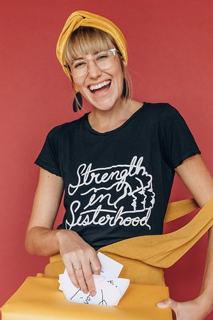 Strength in Sisterhood Tee - PREORDER