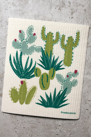 Swedish Dishcloth - Cactus