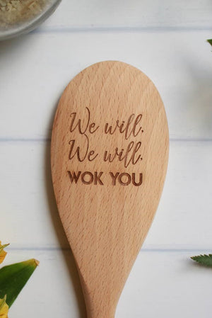 Wodden Spoon - We Will, We Will Wok You