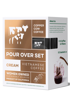 Classic Vietnamese Coffee Pour Over Set