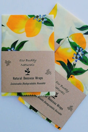 Beeswax Food Wrap - Lemons