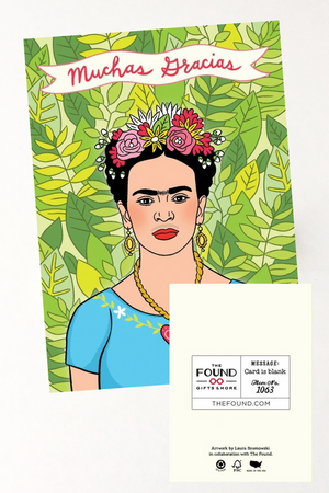 Frida Kahlo Thank You Card