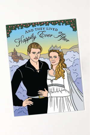 Princess Bride Wedding Card