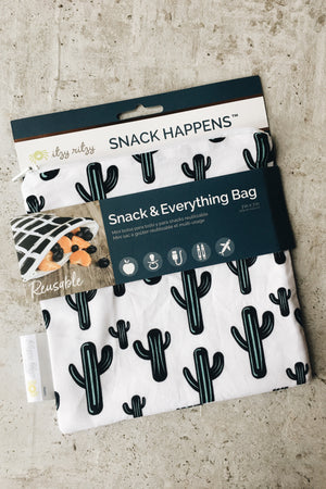 Reusable Snack Bag - Cactus