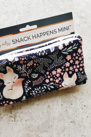 Reusable Mini Snack Bags (2 pk) - Fox