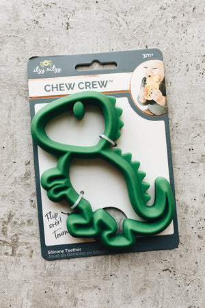 Non-Toxic Silicone Baby Teether - Dino