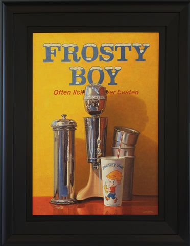 Frosty Boy Painting