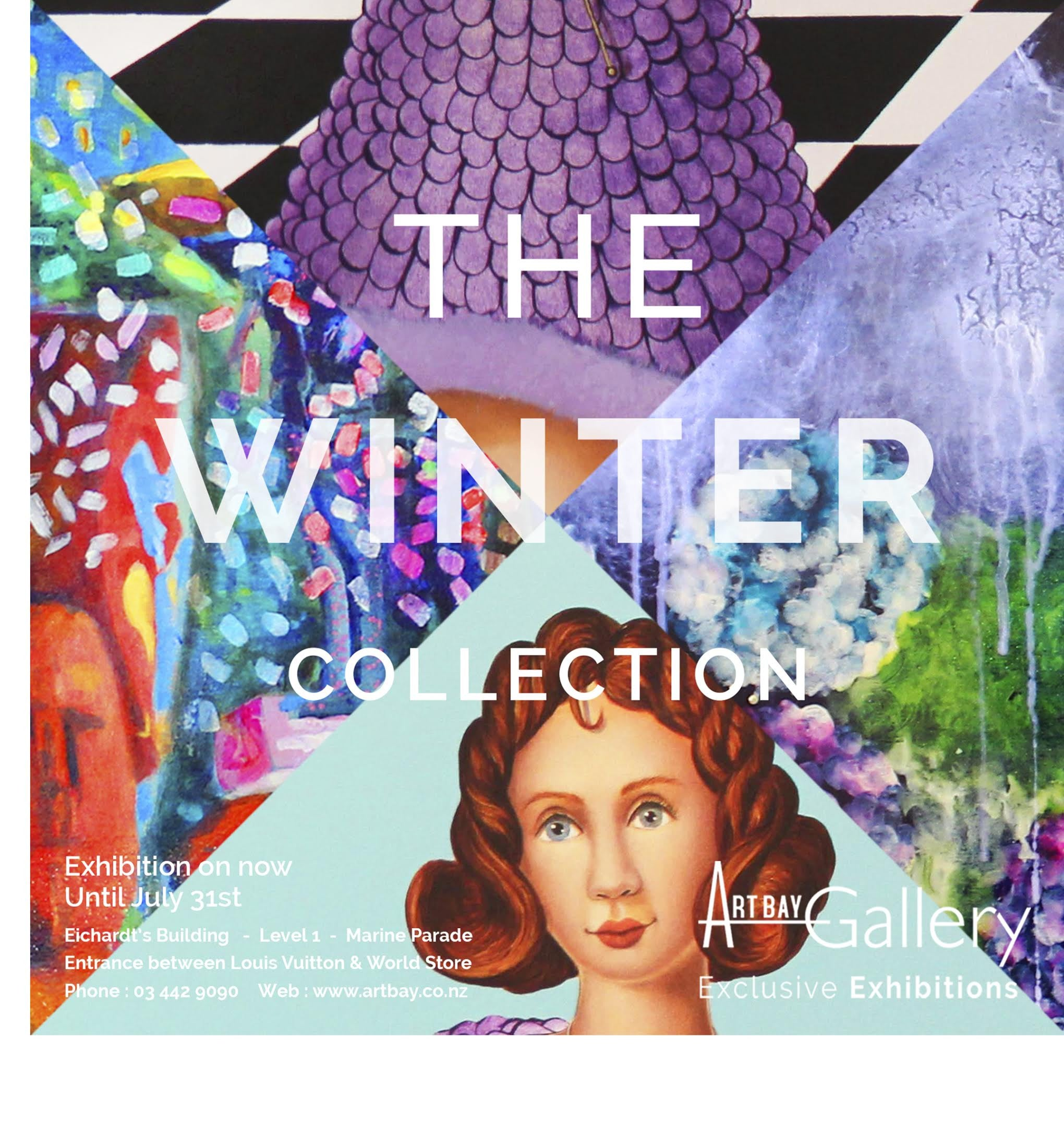 Winter art exhibition in Queenstown