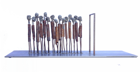 Queue by Tony O'Keefe
