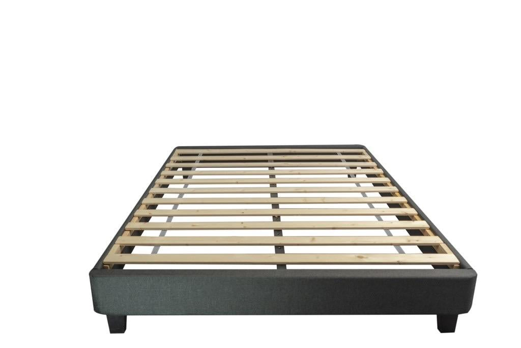 upholstered bed base platform
