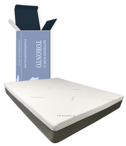 "Emery 8"" gel Rolled mattress from only:"