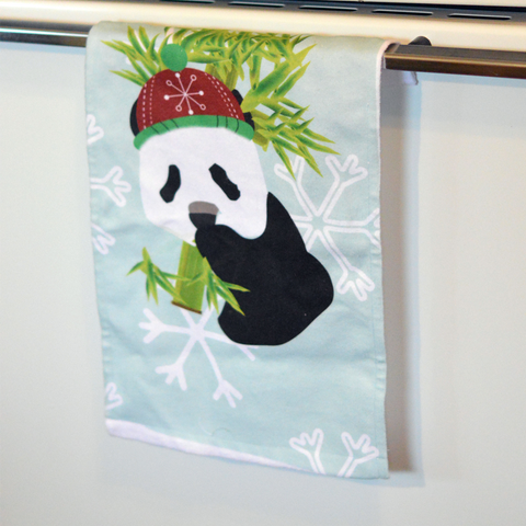 Winter Panda - Towel