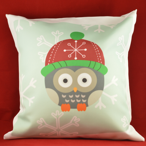 Winter Owl - Pillowcase