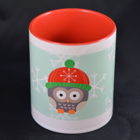 Winter Owl Mug