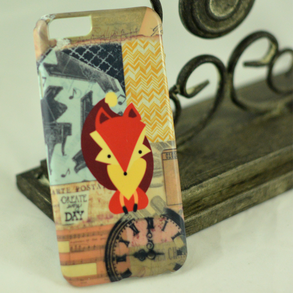 Fox (Vintage Music) Phone Case