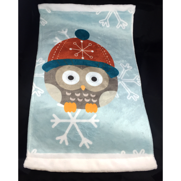Winter Owl - Towel