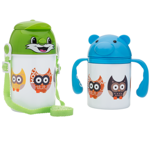 Cute Owls - Children's Water Bottle - Aspireimaginary