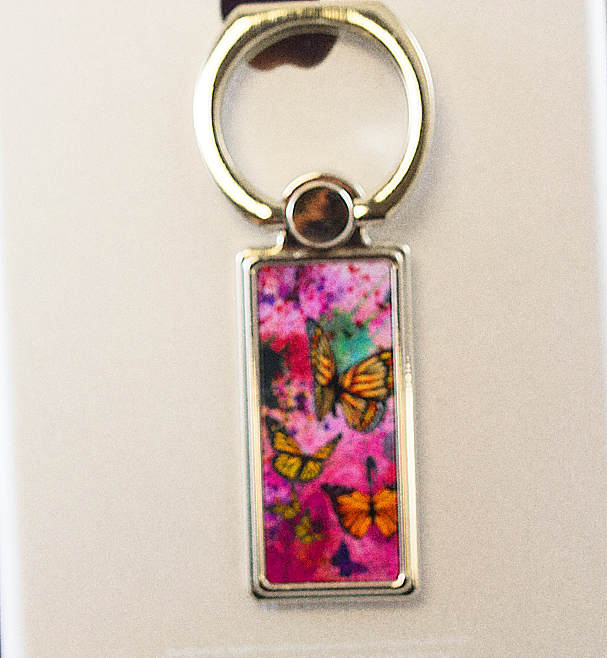 BUTTERFLY ABSTRACT WATERCOLORFREEDOM -Phone Ring Holder - Aspireimaginary