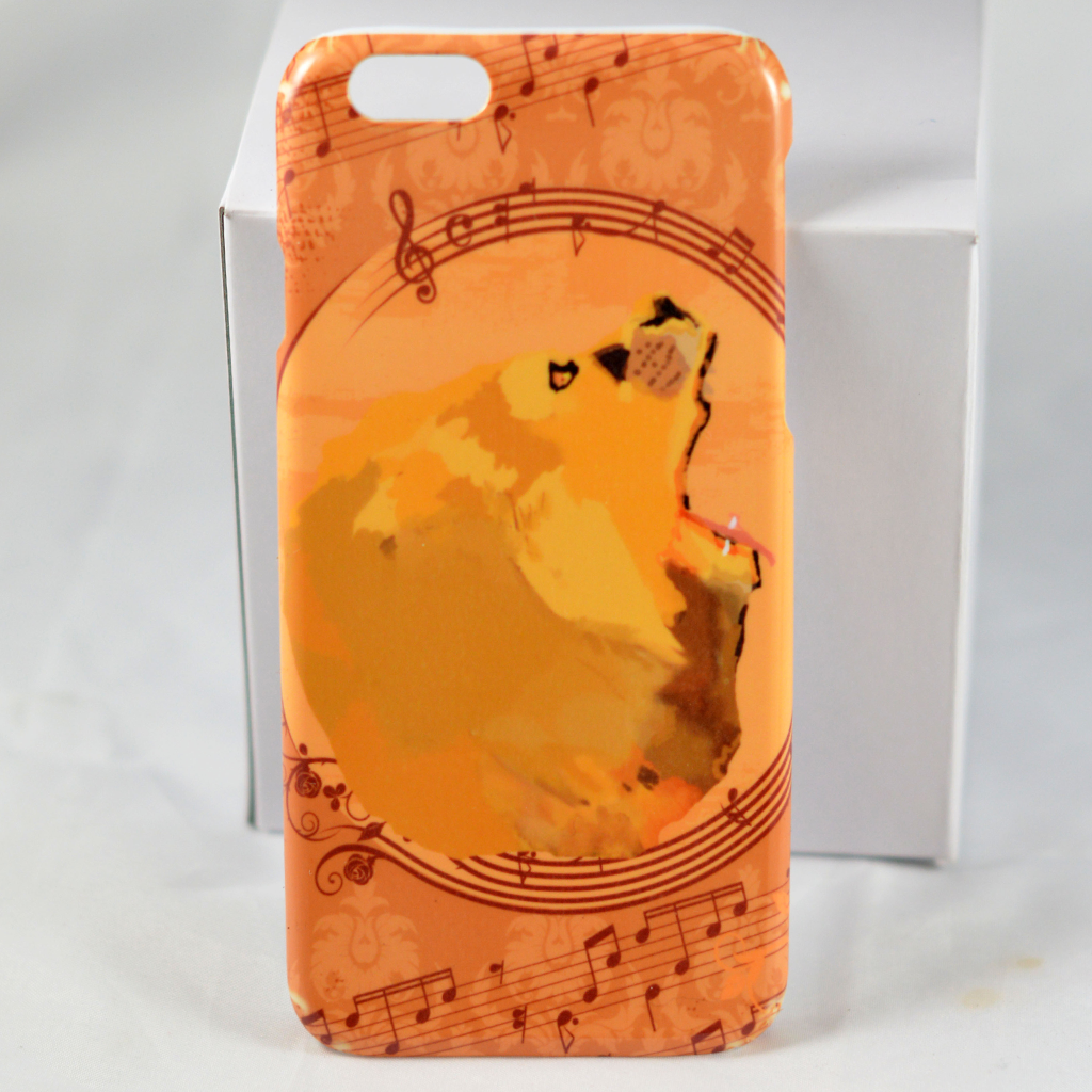 Lion Roar Music Notes - Phone Case
