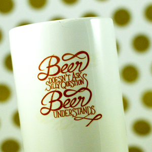 My Best Friend is Beer Solid Mug - Aspireimaginary