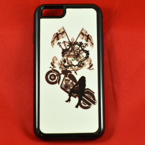 Black Bike - Phone Case