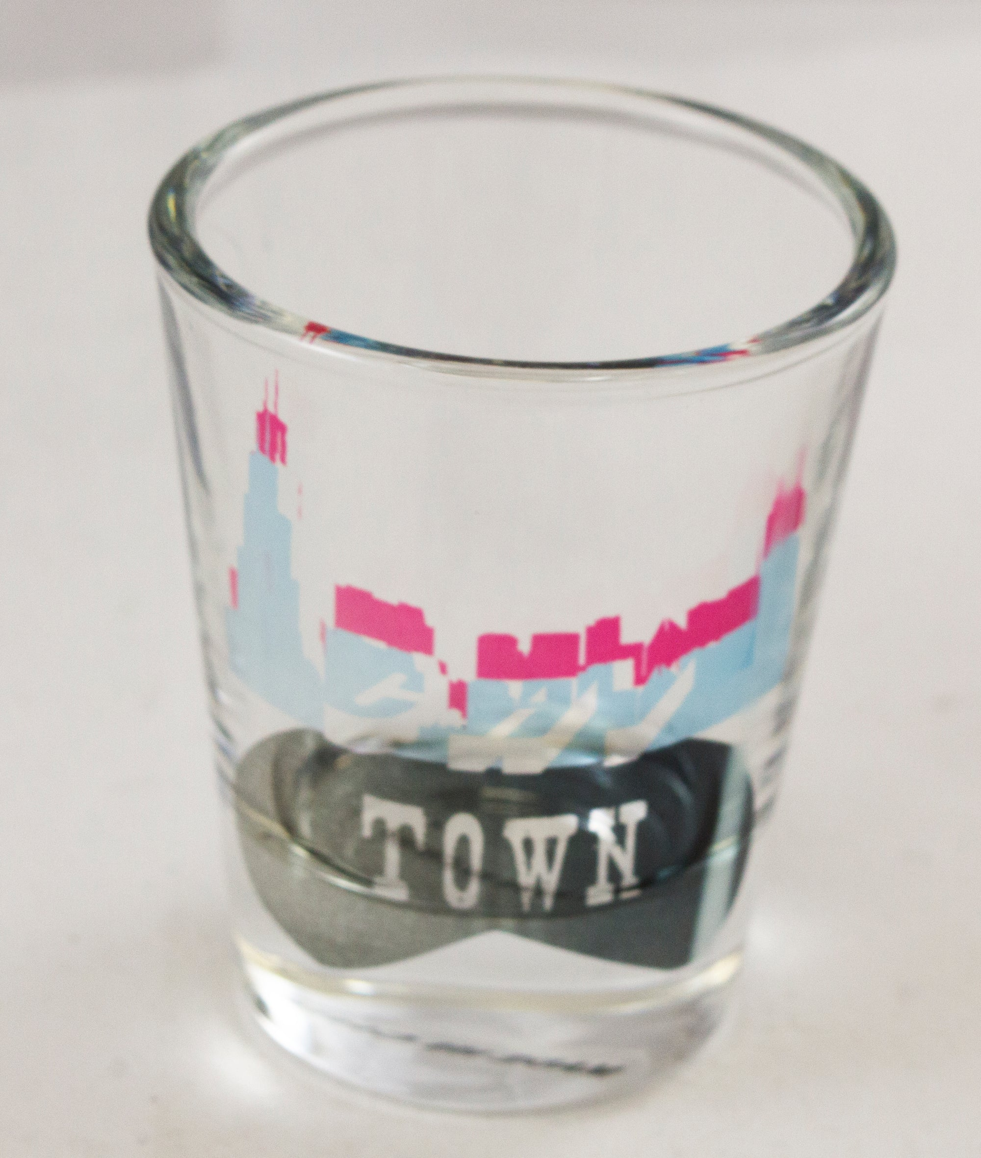 CHI-TOWN BEAN Shotglass - Aspireimaginary