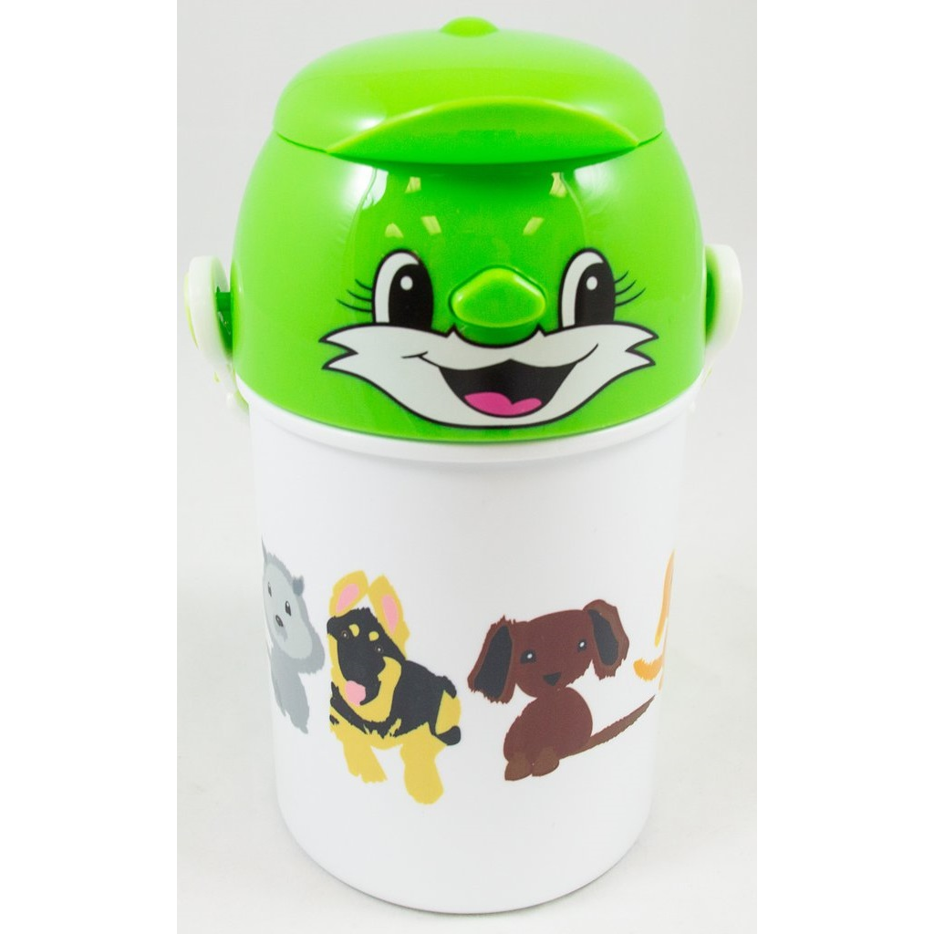 Puppies! - Children's Water Bottle - Aspireimaginary