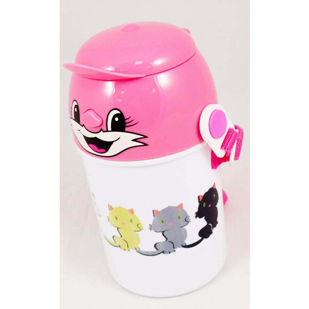 Many Kittens - Children's Water Bottle - Aspireimaginary
