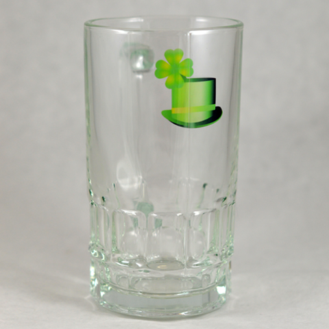 Luck of the Irish Hat - Clear Mug