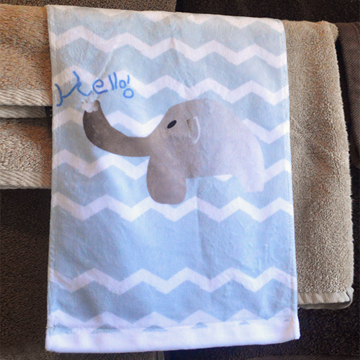 Playful Elephant  - Towel - Aspireimaginary