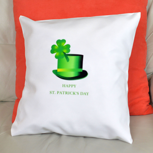 St. Patrick's Day Hat - Pillowcase