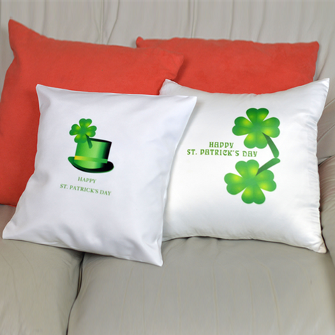 Two Four-Leaf Clovers - Pillowcase
