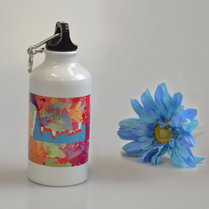 Chicago Tie-Dye - Water Bottle - Aspireimaginary