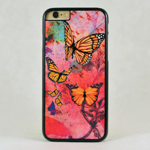Butterfly Abstract WatercolorFreedom - Phone Case - Aspireimaginary