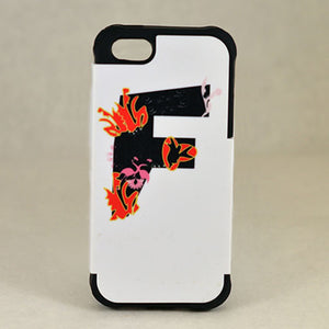 Letter F - Phone Case - Aspireimaginary