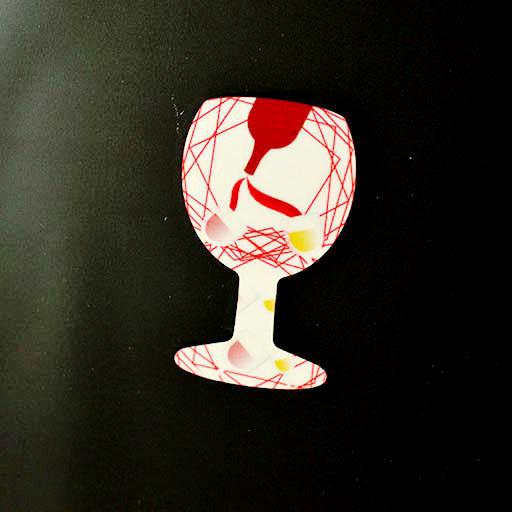 Wine fun - Magnet - Aspireimaginary